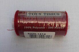 Neue Kurzwaren - Tous Tissus Naaigaren 500m Donkerrood 1414