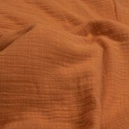 Decoratiestoffen - KN 0800-546 Linen baby cotton zacht oranje