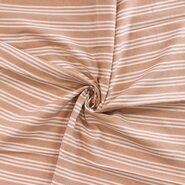 65% Baumwolle, 35% Polyester - Ptx Sommer21 363005-11 Baumwolle Streifen beige