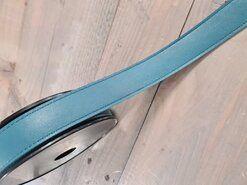 Blauw - Kunstleer band blauw 30mm (F403.30.079)