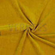 90% katoen,10% polyester - VH(17) 8048-031 Nicky velours oker