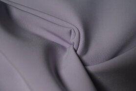Paarse stoffen - KN21 0854-815 Bi-stretch lila