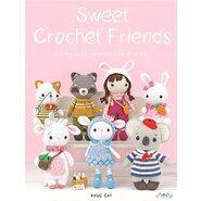 Haak- en breiboeken - Sweet Crochet Friends Haakboek 9999-2705