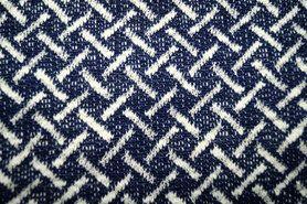 Gebreide stof - Ptx Zomer21 974952-22 Breisel donkerblauw