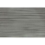 3 mm Band - Koord grijs