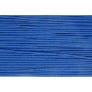 3 mm band - Koord kobaltblauw (0215)