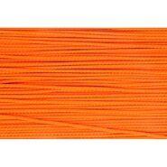 3 mm band - Koord oranje (0693)