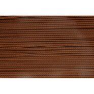 3 mm Band - Koord bruin