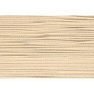 3 mm band - Koord beige (0876)