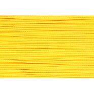 3 mm band - Koord geel (0645)