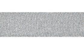 Band - XSS12-161 Galonband Glitter Zilver