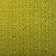 Broek - KN 13423-314 Tricot kabel lime