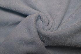 Babycape stof - Ptx 997049-821 Rekbare badstof lichtblauw op=op