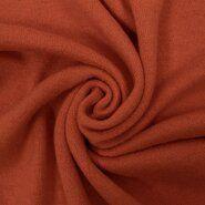 Orange Stoffe - KN21 0675-445 Jersey heavy angora terra