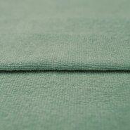 Badjas stoffen - KN 0902-321 Bamboo badstof Double face licht oudgroen