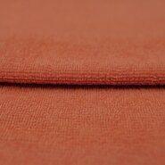 Kinderstoffe - KN 0902-455 Bamboo badstof zacht oranje