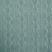 Sweater - KN21 18126-630 Gebreid kabel lichtblauw