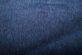 Decoratie en aankleding stoffen - 5452-02 Canvas special (buitenkussen stof) donker jeansblauw