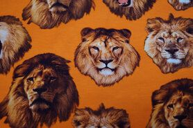 Alle Saisons - KC7510-056 Tricot leeuwenkop oranje