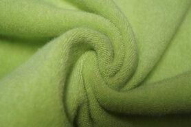 Groene stoffen - Ptx 997049-728 Rekbare badstof lime op=op