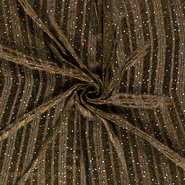 Luftige - NB21 16274-027 Chiffon bedruckt Animalprint olivgrün