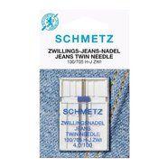 Nieuwe fournituren - Schmetz Tweeling Naald Jeans 4.0/100