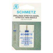 Nieuwe fournituren - Schmetz Tweeling Naald Stretch 4.0/75