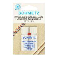Nadeln - Schmetz Zwillings-Nähmaschinennadel 2.5/80
