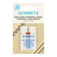 Nadeln - Schmetz Zwillings-Nähmaschinennadel 4.0/90