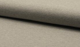 Gebreide - RS0179-165 Tricot lichtgrijs gemeleerd