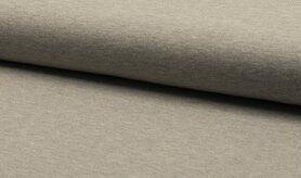 Grijze stoffen - RS0179-165 Tricot lichtgrijs gemeleerd
