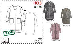 It's a fits - It's a Fits 1103. Patroon vest dames