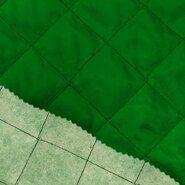 Doorgestikte stof - KN 0168-200 Gestepte voering grasgroen
