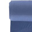 Nooteboom stoffen - NB 5861-006 Boordstof ribbel jeansblauw
