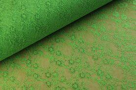 Goedkope stoffen - BU 4800-014 Kant groen