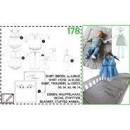 Nähmuster - Abacadabra patroon 178 shirt, broek en 2x jurkje