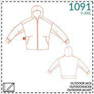 Naaipatronen - It's a fits 1091: herenpatroon outdoor jack