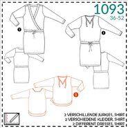 Nähmuster - It's a fits 1093: twee verschillende jurkjes, shirt