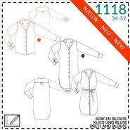 It's a fits - It's a fits 1118: jurk, blouse