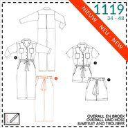 Naaipatronen - It's a fits 1119: jumpsuit, broek