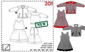 Naaipatronen - Abacadabra patroon 201: jack, jurk