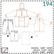 Nähmuster - Abacadabra patroon 194: jack, shirt, broek