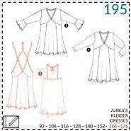 Naaipatronen - Abacadabra patroon 195: jurkje