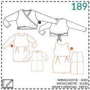 Naaipatronen - Abacadabra patroon 189: wikkelvestje, jurk