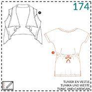 Nähmuster - Abacadabra Muster 174 Tunik und Weste
