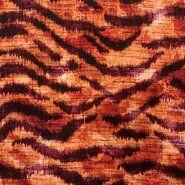 Orange - KN 21/22 18189-445 Viscose digitaal tijger oranje