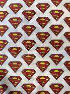 Katoenen stoffen - JO 5717-601 Katoen DC logo superman
