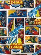 Katoenen stoffen - JO 5717-603 katoen DC justice league multi