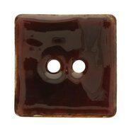 Knopen - Knoop Kokos Vierkant Bruin 5681-70-881