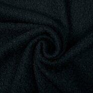 Gebreide stof - KN 20/21 0763-999 Boucle zwart